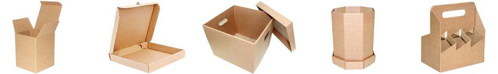 Обыкновенная и эксклюзивная упаковка из картона