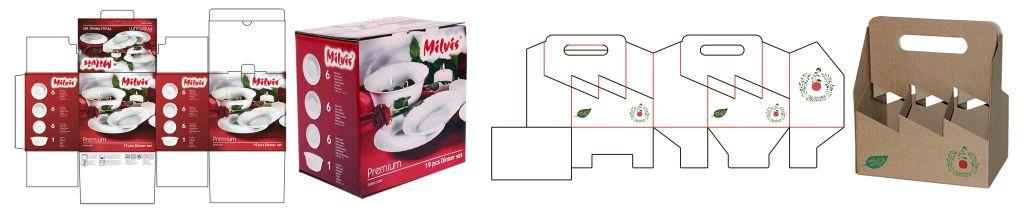 Упаковка из картона - дизайн