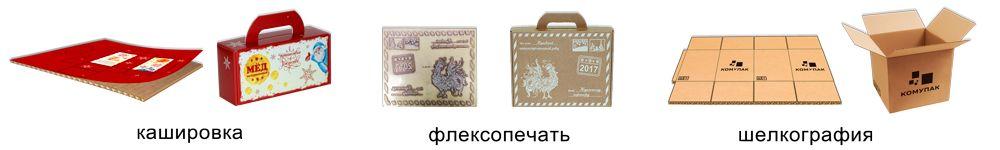 КОМУПАК - нанесение печати на гофрокороба
