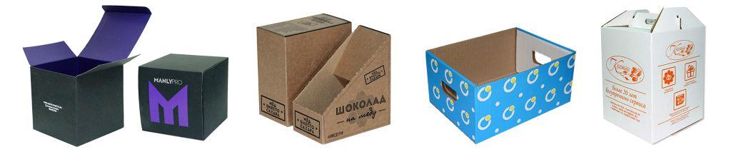 Упаковка из картона - флексопечать